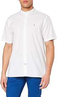 Tommy Hilfiger Men's Stretch Poplin Shirt S/S Sweatshirt