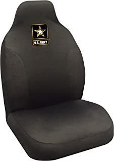 Military U.S. Army Seat Cover, 20 x 48/Small, Black
