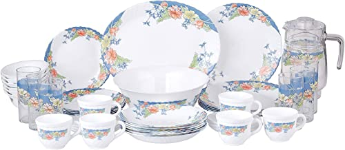 Arcopal Dinnerware Sets, White, H 31.8 x W 38.0 x D 30.0 cm, Porcelain
