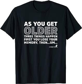 Baby Boomer Senior Citizen Geriatric TShirt Memory