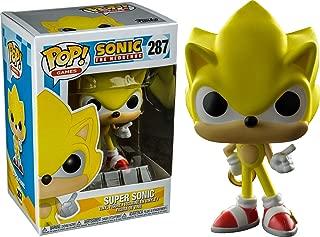 Funko Pop Games: Super Sonic Collectible Figure, Multicolor