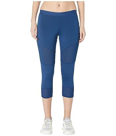 adidas by Stella McCartney Performance Essentials 3/4 Tights DT9323 (Mystery Blue) Women