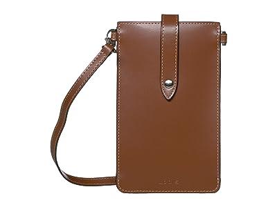Lodis Accessories Audrey Under Lock Key Phone Crossbody (Sequoia) Handbags