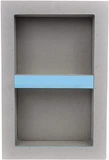 Houseables Shower Niche, Insert Storage Shelf, 12 x 20 Inch, Leak-Proof, Waterproof, Recessed Preformed Caddy, Tileable Prefab Shelves for Bathroom, Prefabricated Deep Wall Toiletry Organizer