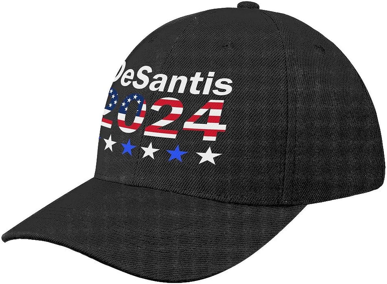 chenhe Ron Desantis 2024 Presidential Adjustable Baseball Cap Unisex Trucker Cap Dad Hat