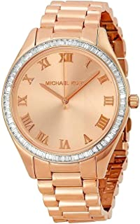 Michael Kors Womens Quartz Watch, Analog Display and Stainless Steel Strap MK3245