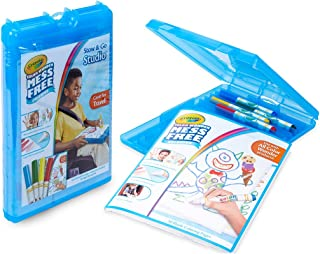 Crayola Color Wonder Stow & Go, Mess Free Coloring, Gift for Kids, 34Piece