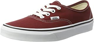 Vans Authentic, Unisex Adults Trainers, Red (Madder...