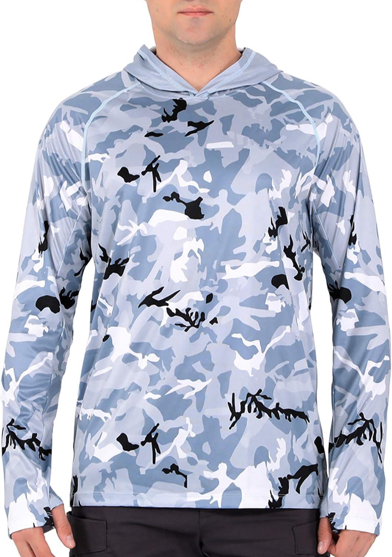 Aierbulu Men's UPF 50+ 100% quality warranty! Sun Protection Printed Shirts Choice UV f Hoodie
