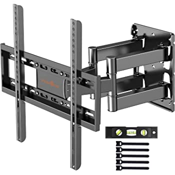 "Soporte de TV Pared Articulado Inclinable y Giratorio – para Pantallas de 26""-55"" TV, MAX VESA 400x400mm, para Soportar 40kg"