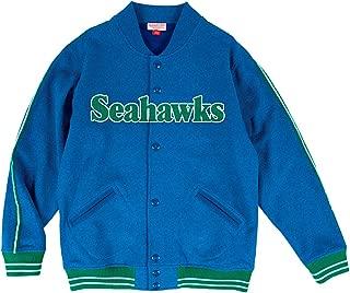 Mitchell & Ness Seattle Seahawks NFL Play Call Men's Premium Fleece Jacket