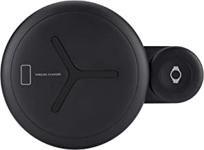 Fast Wireless Charging and Watch Wireless Charger 2 in 1,Compatible with Samsung Galaxy Watch 42/46mm/Active,Gear S4/S3/S2,Galaxy Buds, Galaxy S10/Note9, iPhone 8/8Plus/X/XR/Xs Max and More.