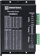 2-Phase Stepper Motor Driver DM860C 2.4-7.2A 24-80VDC 18-60VAC for CNC Nema 34 Stepper Motor by Smartrayc (Buy More Discounts)