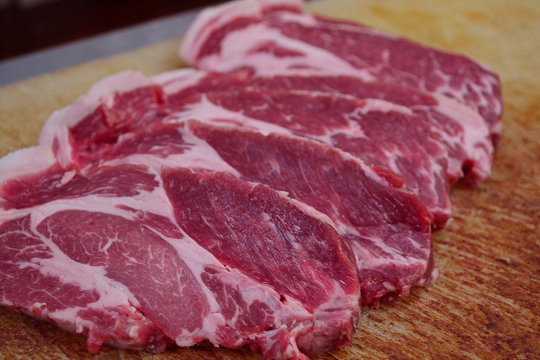 お肉屋さんの絶品 肩ロース 切り身 6枚 セット 【 国産 豚肉 肩ロース ★】1枚1枚 真空パック
