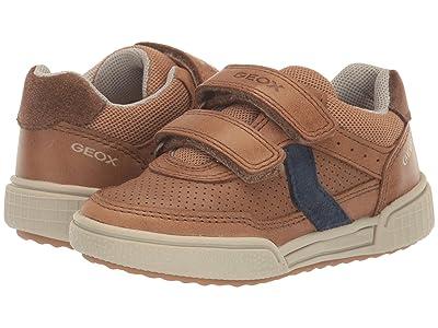 Geox Kids Poseido 1 (Toddler/Little Kid) (Dark Brown) Boy