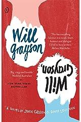 Will Grayson, Will Grayson Kindle Edition