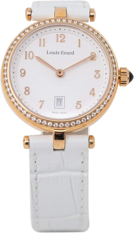Louis Erard Romance Collection IP Oro Rosa Diamantes 10800PS40.BRCA1