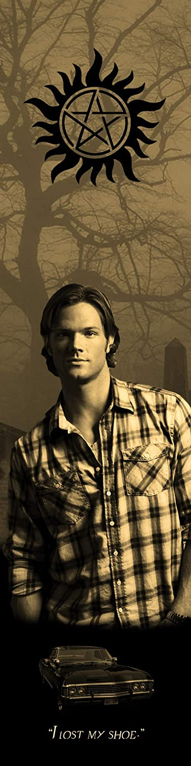 Sam Limited Max 89% OFF time for free shipping Winchester Supernatural Metal Bookograph Bookmark