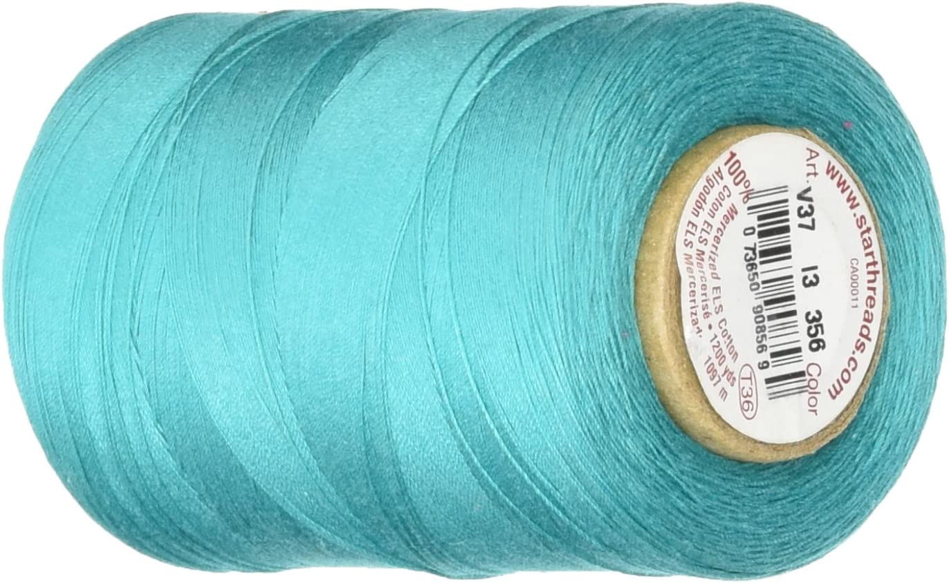 YLI Philadelphia Mall Star Thread V37-356 Ranking TOP9 3-Ply Craft Cotton 30wt Quilting T-35