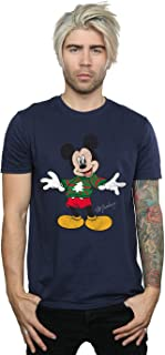 Men's Mickey Mouse Christmas Jumper T-Shirt