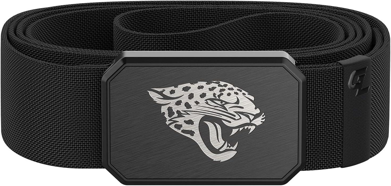Direct store Groove Life Men's Black Engraved Belt Jacksonville Free Shipping New Jaguars