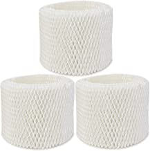 Extolife 3 Pack Replacement Humidifier Filter for Vicks & Kaz WF2 Humidifier V3100, V3500, V3500N, V3600, V3700, V3800, V3850, V3850JUV, V3900, V3900JUV, VEV320, 3020, ECM-250i, ECM-500, WA-8D (3)