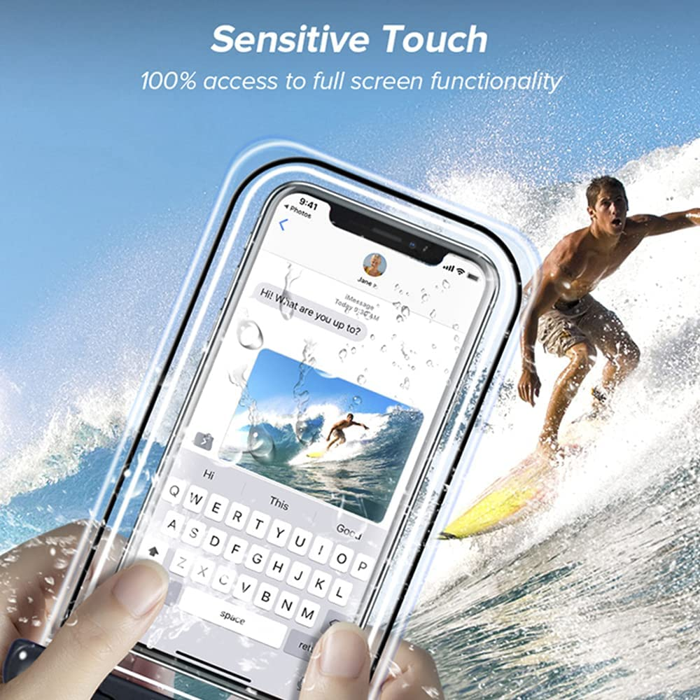 Universal Waterproof Pouch Cellphone Dry Bag Case IPX8 Clear Underwater Case up to 7