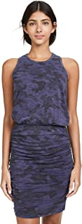 SUNDRY Women's Camo Sleeveless Dress