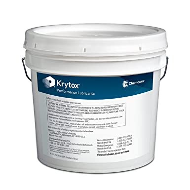 Krytox GPL 205 High Performance Pure Fluorinated Synthetic PFPE//PTFE Grease 14 g