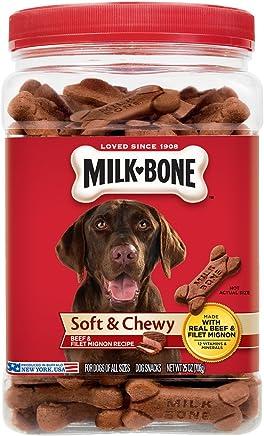 Milk-Bone Soft & Chewy Beef & Filet Mignon Recipe Dog Treats,