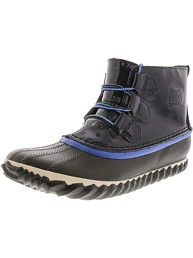 要求熟した逆さまにSorel Women's Out N About Ankle-High Leather Rain Boot