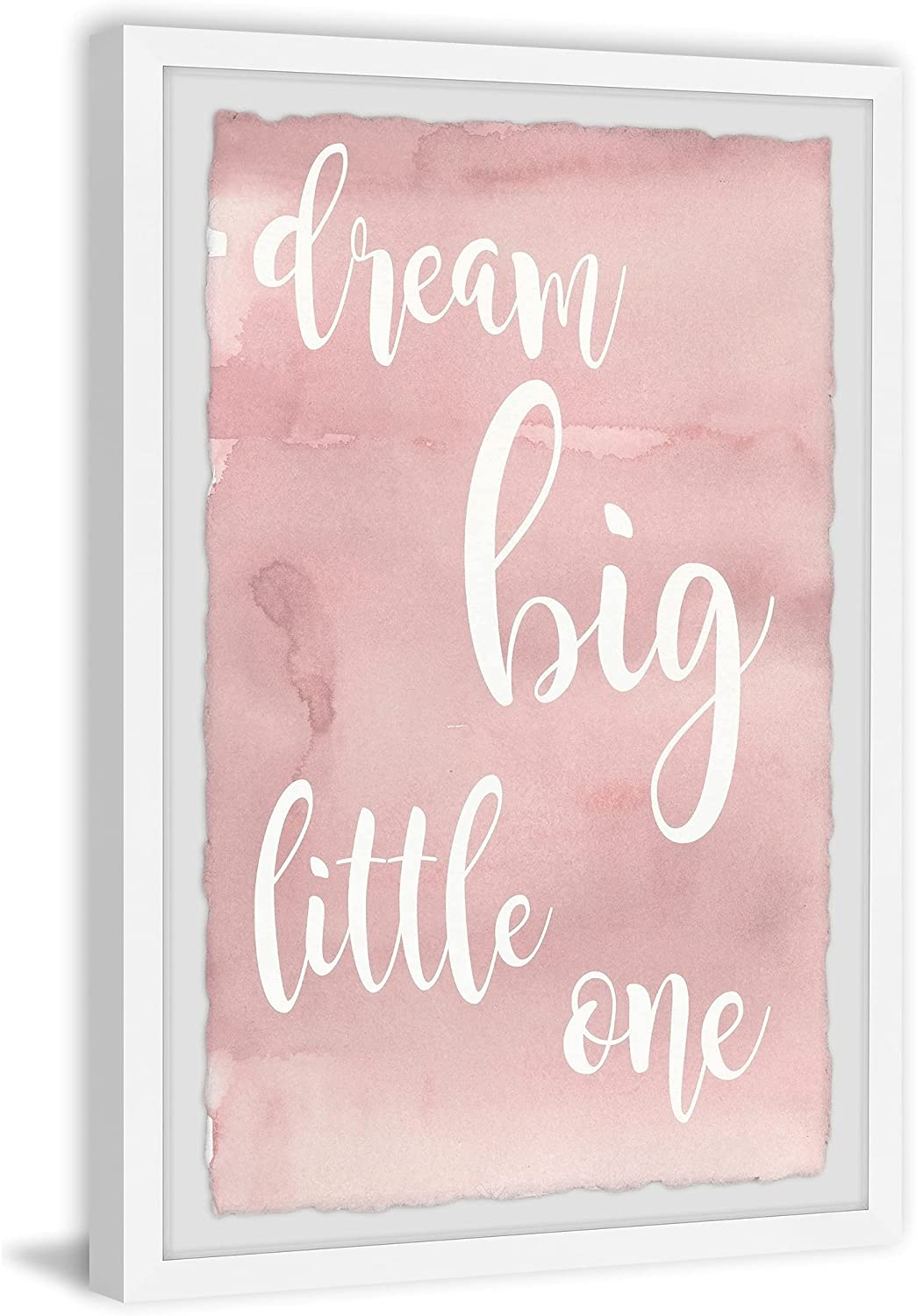 Marmont Hill - Daily bargain sale Handmade Pink Dream 2021new shipping free shipping 1 One Framed Print Big Little