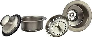Plumb Pak K5475DSBN Sink Strainer and Garbage Disposal Flange, Brushed nickel