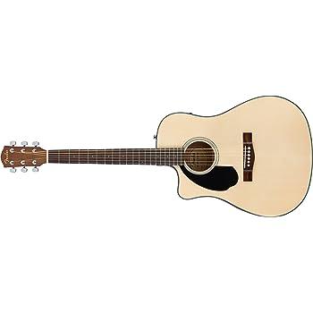 Fender CD-60SCE LH NAT WN · Guitarra acústica para zurdos: Amazon.es: Instrumentos musicales