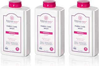 Forever New 32oz Granular Fabric Care Wash 3 Pack (96oz Total) Natural Laundry Detergent