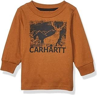Baby Boys' Long Sleeve Graphic Tee T-Shirt