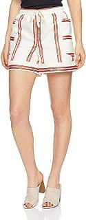 Tommy Hilfiger Women's Cotton Linen Regular Fit Shorts