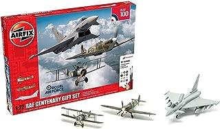 Airfix RAF (Royal Air Force) Centenary 1:72 Gift Set Military Aviation Plastic Model Kits A50181