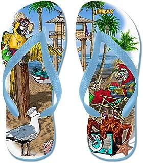 Best blue parrot sandals Reviews