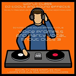 DJ Party Vocal Samples and Sound Effects Squeeze My Lemon Till the Juice Runs Down My Leg Crunk Male