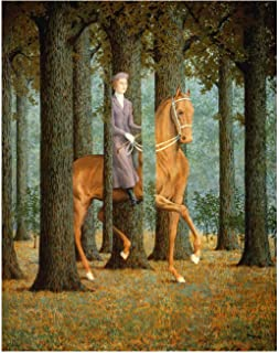 Spiffing Prints Rene Magritte The Blank Cheque - Extra Large - Matte - Unframed