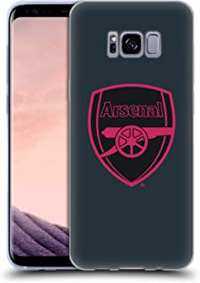 Official Arsenal FC Third 2017/18 Crest Kit Soft Gel Case Compatible for Samsung Galaxy S8