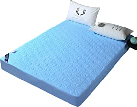 MHCYKJ Waterproof Bed Sheet Pocket-Hypoallergenic,Breathable Noiseless Machine Washable Protection Cover-Hypoallergenic Hy...