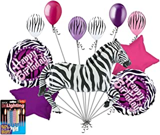 Best turquoise and zebra party decorations Reviews
