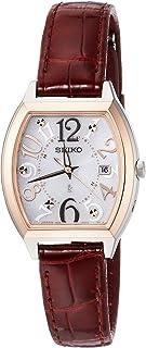 [セイコーウォッチ] 腕時計 ルキア トノー電波 SSVW094 ブラウン