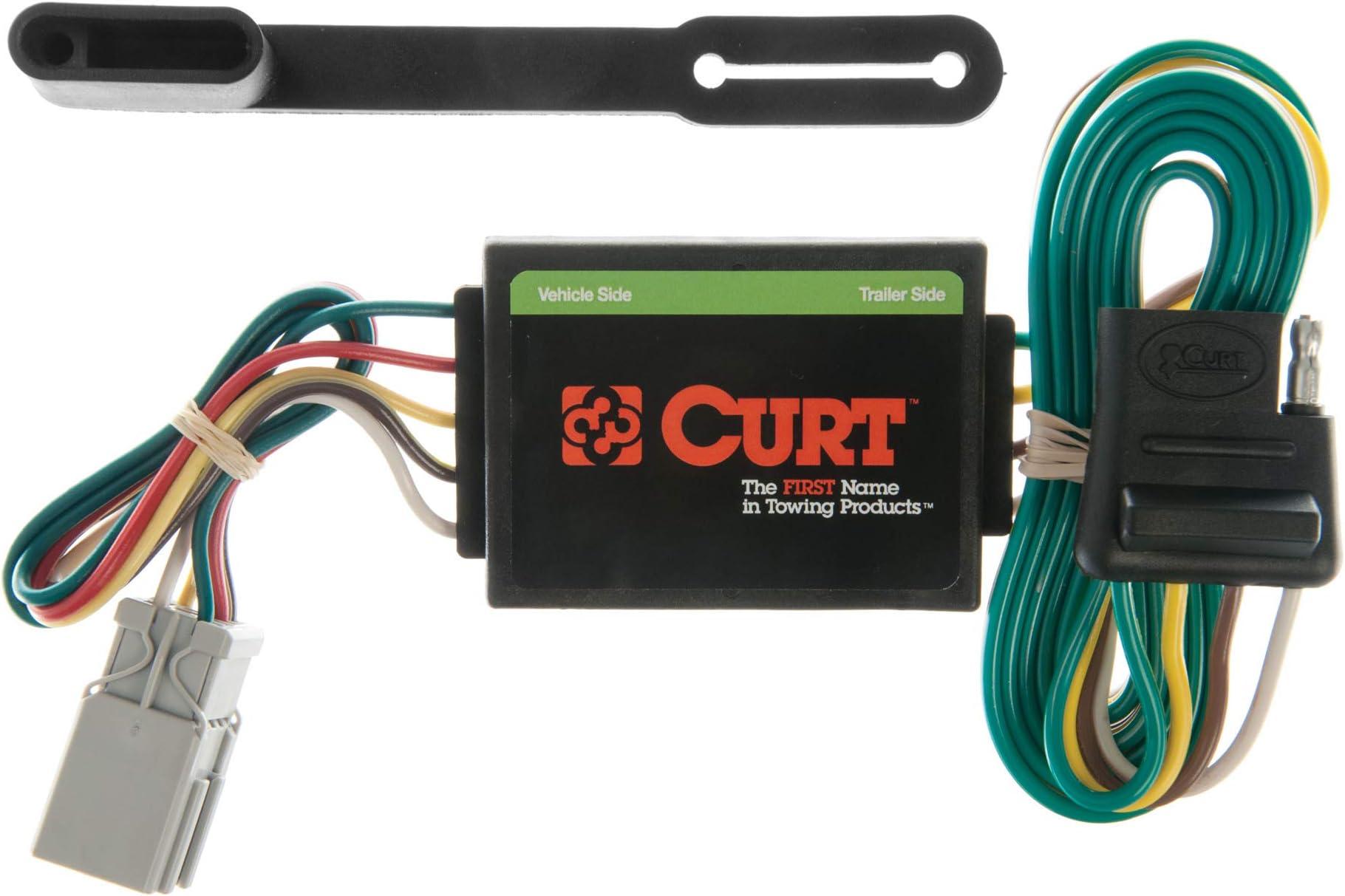 CURT 400 Vehicle Side Custom 40 Pin Trailer Wiring Harness, Select Honda  Accord, CR V, Odyssey, Pilot, Acura Integra, CL, RL, TL, MDX