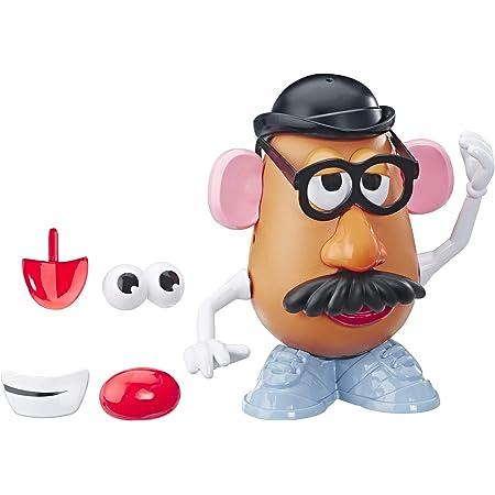 Amazon Com Mr Potato Head Disney Pixar Toy Story 4 Figura Clásica Juguete Para Niños De 2 Años En Adelante Marrón E3091 Toys Games
