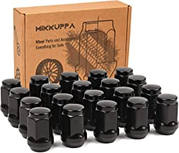 Buyer Needs to Review The spec 20pcs 1.87 Black 1//2-20 UNF Wheel Lug Nuts fit 1994 Jeep Cherokee May Fit OEM Rims