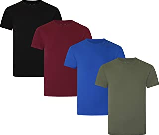 FM London Men's Organic T-Shirt (Pack of 4)