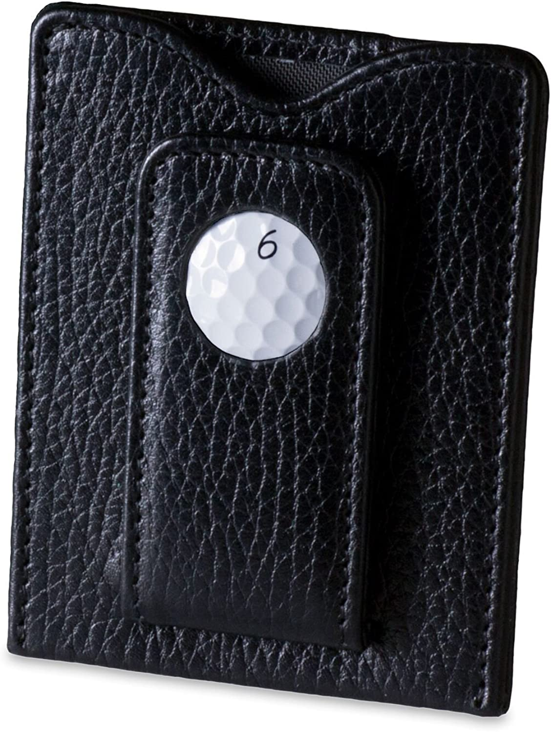 Tokens and Ranking TOP8 Icons TPC Sawgrass Leather Clip Wallet Be super welcome Money Magnetic